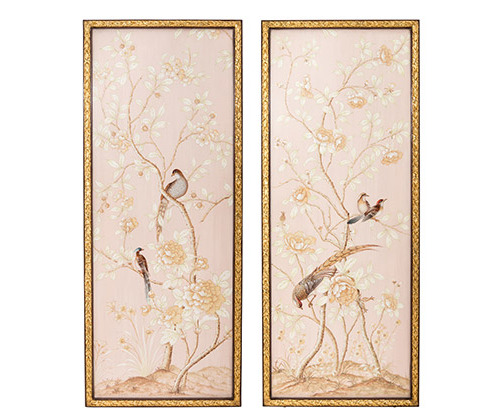 Melea Markell's Floral Panels