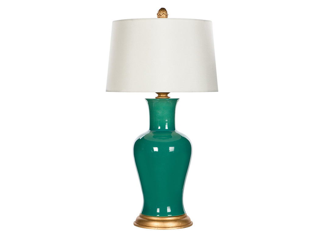 Amelie Emerald Lamp