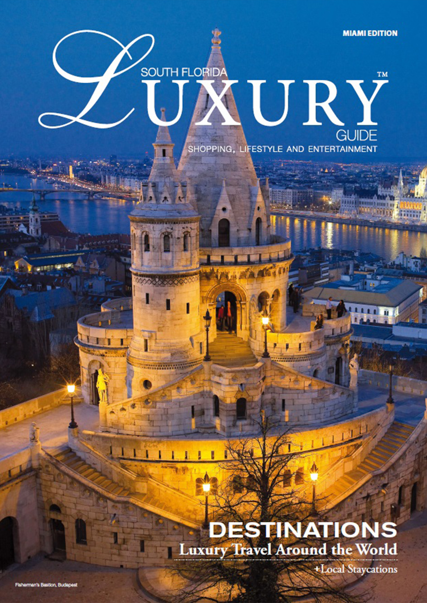 Luxury Guide magazine cover